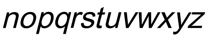 Orion Esperanto Kursiva Font LOWERCASE