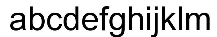 Orion Esperanto Normala Font LOWERCASE