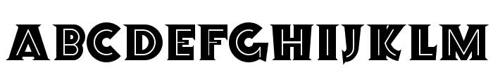 Orion Radio NF Font UPPERCASE