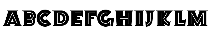 Orion Radio NF Font LOWERCASE