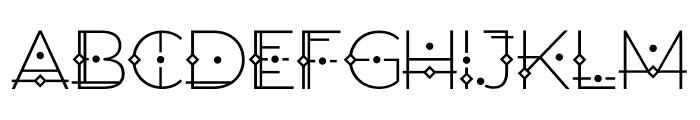 Orion Regular Font UPPERCASE