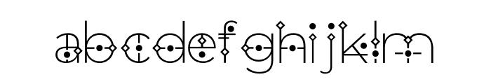 Orion Regular Font LOWERCASE