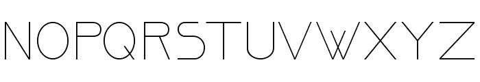 OrmontLight Font UPPERCASE