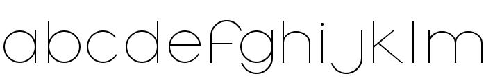 OrmontLight Font LOWERCASE