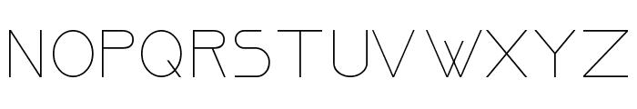 Ormont_Light Font UPPERCASE
