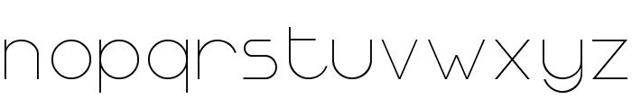 Ormont_Light Font LOWERCASE