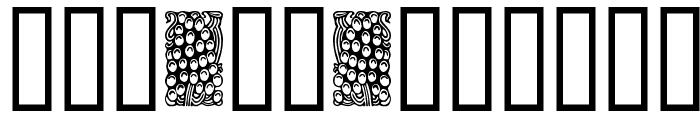 Orna 3 Font UPPERCASE