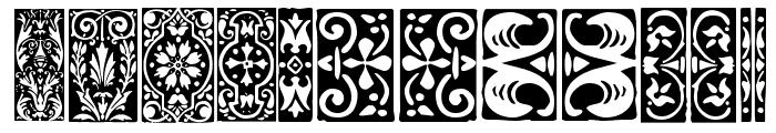 Orna 3 Font LOWERCASE