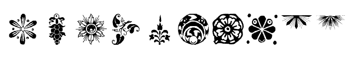 OrnamElements Font OTHER CHARS