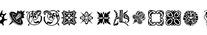 OrnamElements Font LOWERCASE