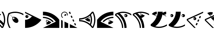 OrnamFacesMK Font UPPERCASE