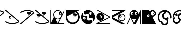 OrnamFacesMK Font LOWERCASE