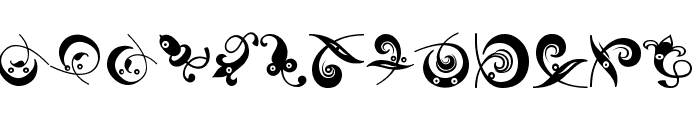 OrnamHeads Font LOWERCASE