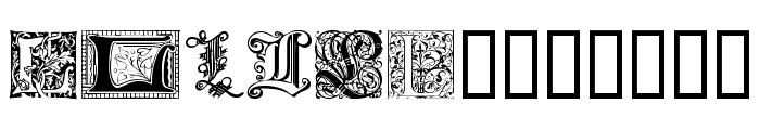 Ornamental Initials L Font LOWERCASE