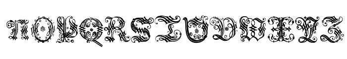 OrnamentalInitial Font UPPERCASE
