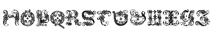 OrnamentalInitial Font LOWERCASE