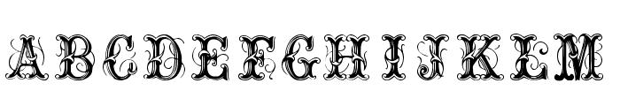 OrnamentalNo2 Font UPPERCASE
