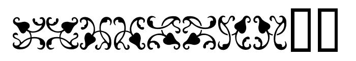 Ornamentos Orlas y Vinetas LGt Regular Font OTHER CHARS
