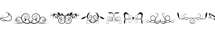 Ornaments soul Font LOWERCASE