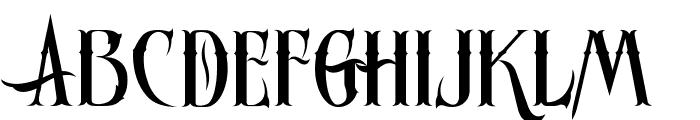 Ornatique Font LOWERCASE