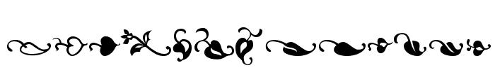 OrnementsADF Font UPPERCASE