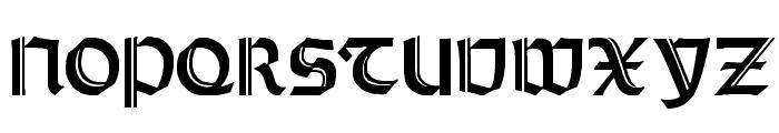 Orotund Capitals Heavy Font UPPERCASE