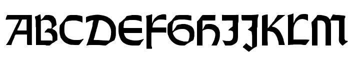 Orotund Heavy Font UPPERCASE