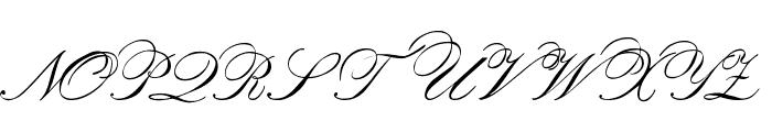 Orphiel Demo Font UPPERCASE