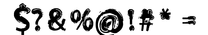 Orust Font OTHER CHARS