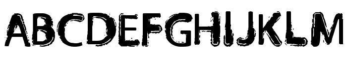 Orust Font UPPERCASE