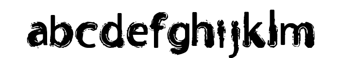 Orust Font LOWERCASE