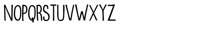 Oranjerie Regular Font UPPERCASE