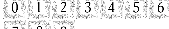 Orbi Initials Two Font OTHER CHARS