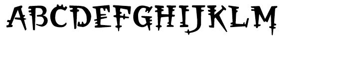 Orbus Regular Font UPPERCASE