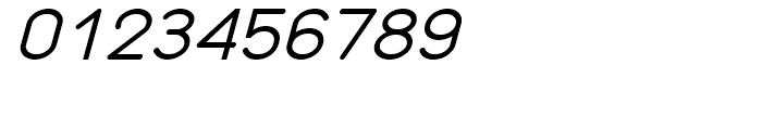 Organicon Italic Font OTHER CHARS
