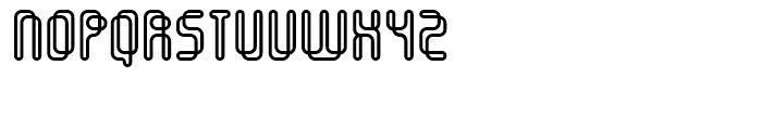 Orgasmia Outline Font UPPERCASE