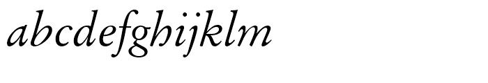Original Garamond Italic Font LOWERCASE