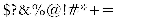 Original Garamond Roman Font OTHER CHARS