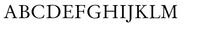 Original Garamond Roman Font UPPERCASE