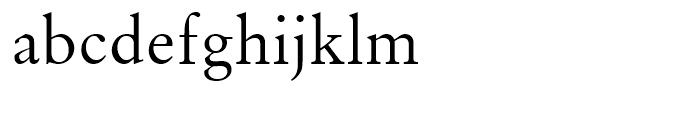 Original Garamond Roman Font LOWERCASE