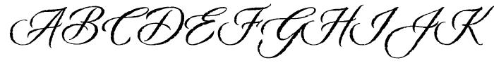 Origins Font UPPERCASE