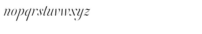 Orlando Samuels Light Font LOWERCASE
