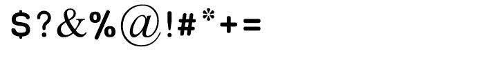 Oron Keshet Regular Font OTHER CHARS