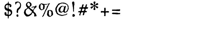 Oronteus Finaeus Regular Font OTHER CHARS