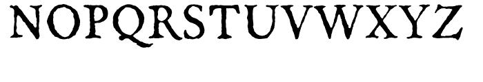 Oronteus Finaeus Regular Font UPPERCASE