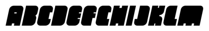 OrangeRoyale Closed Italic Font UPPERCASE