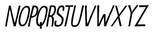Oranjerie Italic Font UPPERCASE