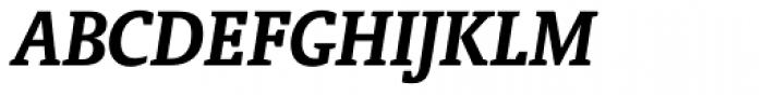 Oranda Bold Italic Font UPPERCASE