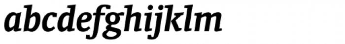 Oranda Bold Italic Font LOWERCASE