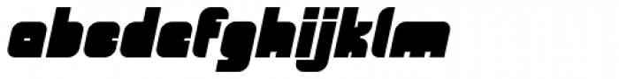 OrangeRoyale Closed Italic Font LOWERCASE
